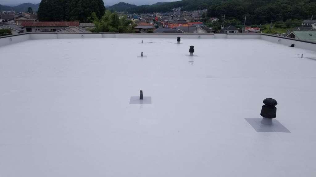 埼玉県飯能市 Oマンション様 屋根防水工事|施工後