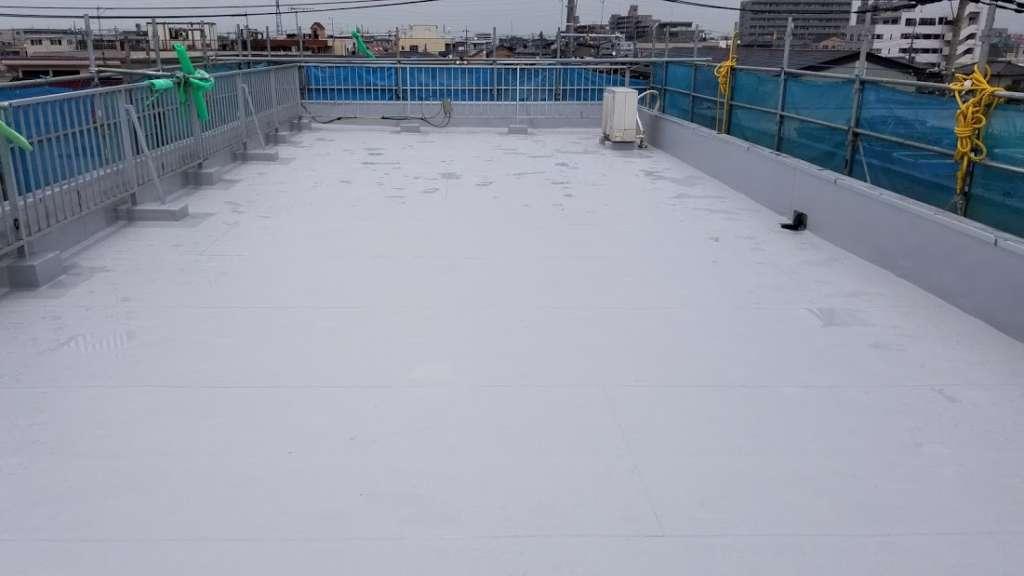 埼玉県北本市 S様邸 陸屋根防水工事 施工後
