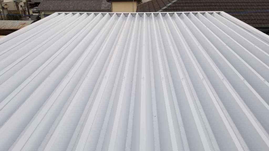 高崎市 A様邸 屋根塗装 遮熱 防水塗装|施工後