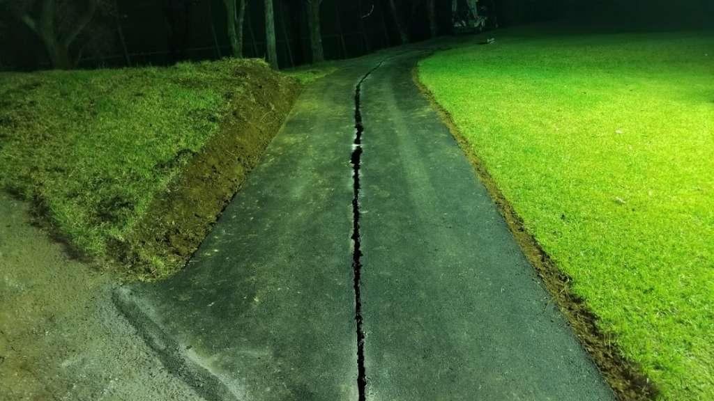 さいたま梨花CCカート道路舗装工事 施工後