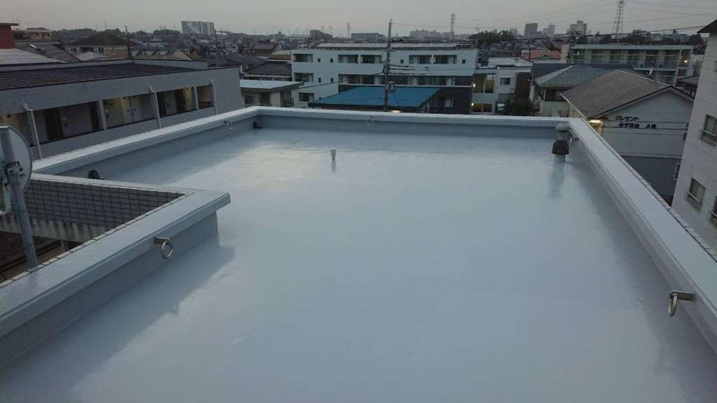 埼玉県富士見市 Nアパート様 屋上防水工事|施工後