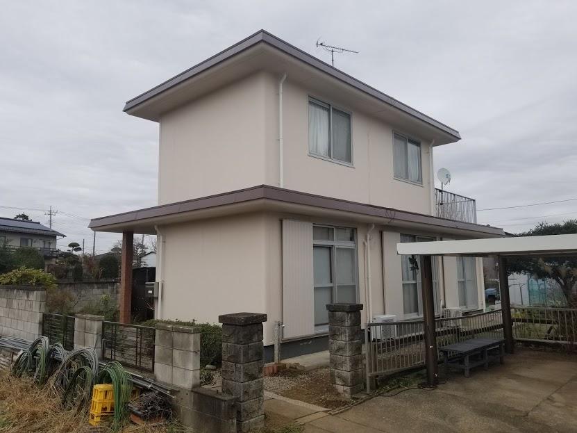 東松山市 I様邸 外壁塗装工事|施工後