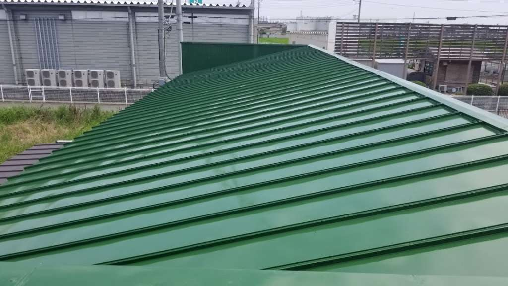 伊勢崎市 ㈱ヤマグチ様 屋根塗装工事|施工後