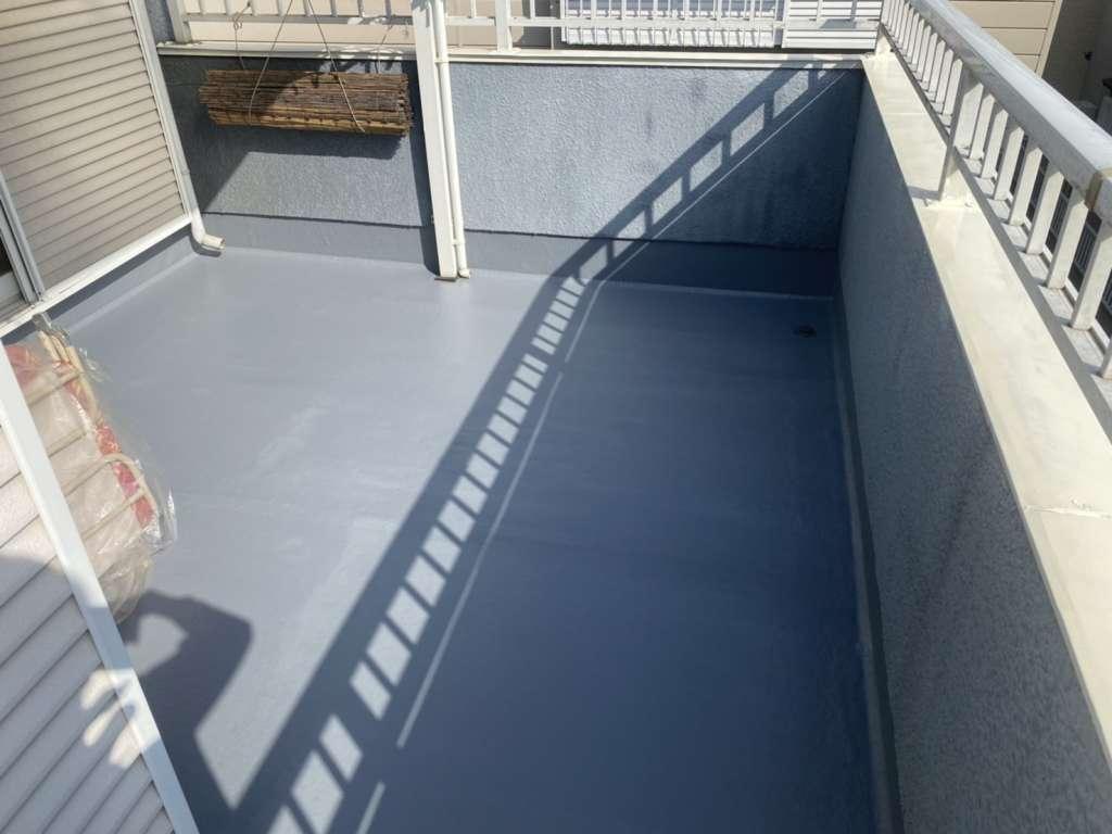 東松山市 O様邸 バルコニー防水工事 FRP防水|施工後
